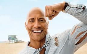 Picture smile, Dwayne Johnson, Dwayne «The Rock» Johnson, Actor