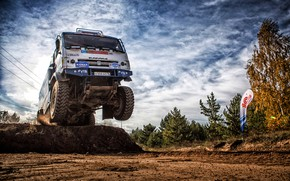 Picture Sport, Machine, Speed, Truck, Race, Master, Russia, Kamaz, Rally, Dakar, KAMAZ-master, Dakar, Rally, KAMAZ, The …