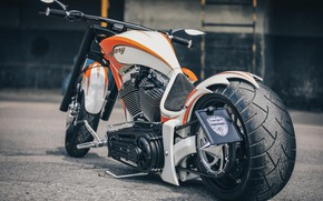 Picture Custom, Mystery, Motorcycle, Thunderbike