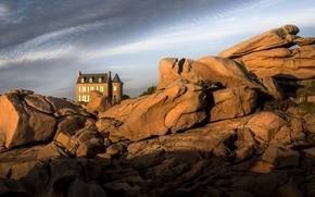 Picture Bretagne, littoral, Côtes-d'armor, rocks