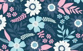 Picture flowers, background, texture, Flowers, background