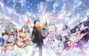 Picture anime, characters, From scratch, Re: Zero Kara Hajime Chip Isek Or Seikatsu