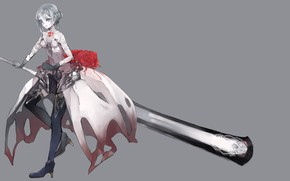 Picture girl, weapons, Snow White, Sinoalice