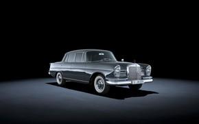 Picture 1964, classic car, Mercedes-Benz 220 SE