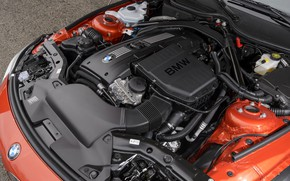 Picture engine, BMW, Roadster, 2013, E89, BMW Z4, turbo, Z4, sDrive35is, 335 HP, straight six-cylinder petrol