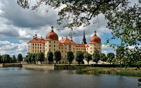 Picture Germany, castle, Moritzburg, Photo by Gert