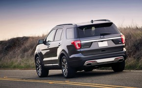 Picture markup, Ford, SUV, Explorer, 2016