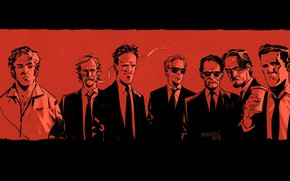 Picture Art, Art, Reservoir dogs, Reservoir Dogs, by Gleb Melnikov, Gleb Melnikov