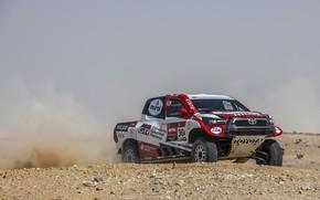 Picture Toyota, pickup, Hilux, rally, 2020, Rally Dakar, 2021, Gazoo Racing