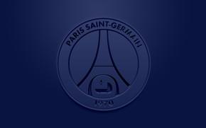 Picture wallpaper, sport, logo, football, PSG, Paris Saint-Germain, Ligue 1