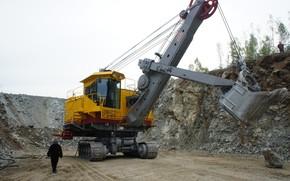 Picture excavator, ECG, ЭКГ5А