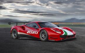 Picture Ferrari, Evo, GT3, 488, Ferrari 488