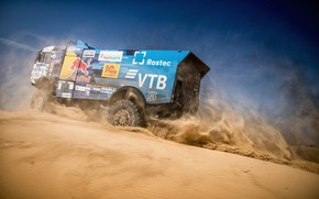 Picture Sand, Auto, Sport, Machine, Truck, Master, Russia, Race, Russia, Kamaz, Rally, KAMAZ-master, Rally, Truck, KAMAZ, …