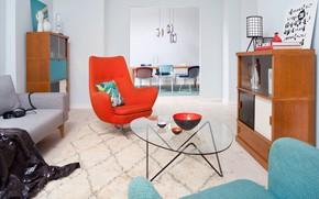 Picture design, style, interior, living room, dining room, Vintage Loft, by Berliner Dependance