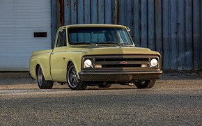 Picture Chevrolet, Chevy, Old, Truck, Vehicle, C10