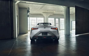 Picture white, Lexus, convertible, feed, 2019, LC Convertible Concept