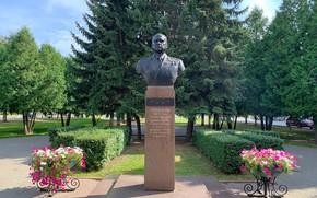 Picture monument, Kolomna, Pots, главком ВМФ