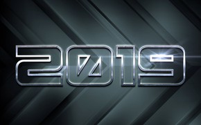 Picture background, graphics, New year, 2019