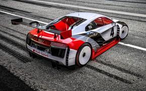 Picture Audi, Machine, Asphalt, Audi R8, Motorsport, Rendering, Concept Art, Sports car, Game Art, Audi R8 …