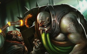 Picture League Of Legends, Viktor, Urgot
