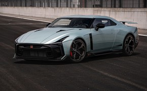 Picture coupe, Nissan, GT-R, R35, Nismo, ItalDesign, 2020, special model, V6, GT-R50, 720 HP