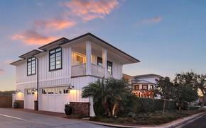 Picture house, photo, garage, USA, mansion, Newport Beach