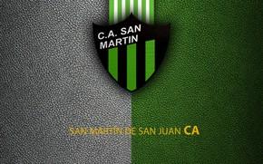 Picture wallpaper, sport, logo, football, San Martín De San Juan