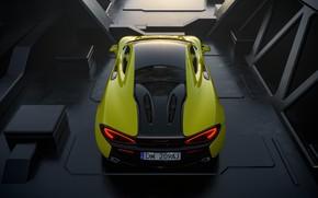 Picture McLaren, Machine, Car, Render, Rendering, 570s, McLaren 570s, Transport & Vehicles, DW-209AJ, by Basil Peksa, …