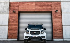 Picture Mercedes-Benz, SUV, G-Class, Lumma Design, 2019, CLR G770, in front of the gate