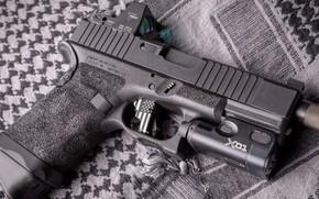Wallpaper gun, weapons, gun, pistol, weapon, Glock, Glock, custom, custom
