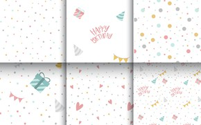 Picture white, background, colorful, gifts, pattern, polka dot, vectors