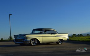 Picture Chevrolet, Bel Air, Coupe, Hardtop, 1957 Year