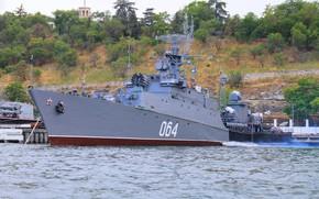 Picture ship, anti-submarine, small, Sevastopol, Muromets