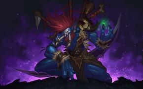 Picture Figure, Fangs, WOW, Blizzard, Art, World of WarCraft, WarCraft, Illustration, Concept Art, Troll, Troll, Vol'jin, …