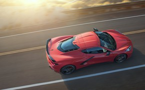 Picture Road, Corvette, Chevrolet, Stingray, 2020, Speed II, Chevrolet Corvette ( C8 ) Stingray