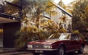 Picture house, the building, car, Christoffer Rudquist, Aston Martin DB