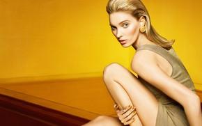 Picture look, girl, pose, Elsa Hosk, Vogue