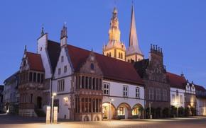 Picture Germany, North Rhine-Westphalia, Town hall, Lemgo