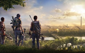 Wallpaper Ubisoft, Tom Clancy's The Division 2, Game