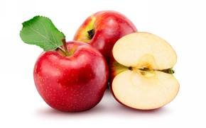 Picture apples, fruit, vitamins