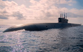 Picture submarine, Prince Vladimir, проект 955А
