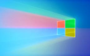 Picture logo, window, Windows, square