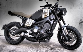 Picture tuning, motorcycle, is, Yamaha, moto, tuning, wheel, custom, Yamaha XSR900, Yamaha XSR900 Scrambler