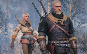 Wallpaper snow, the Witcher, Geralt, The Witcher 3: Wild Hunt, The Witcher 3: Wild Hunt, CRIS, ...