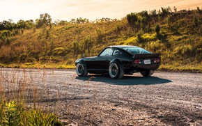 Picture road, nature, design, style, Nissan, Car, Datsun, 240z 6