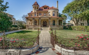 Picture the city, Villa, architecture, mansion, Texas, San Antonio, San Antonio, The Kalteyer House