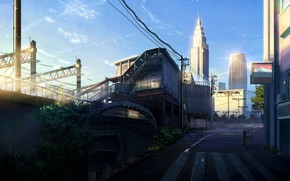 Picture Road, The city, Street