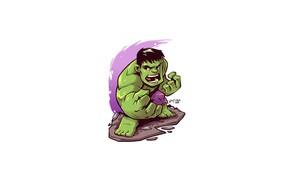 Picture Hulk, Marvel, Derek Laufman