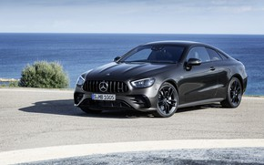 Picture black, coupe, Mercedes-Benz, Coupe, 4MATIC, 2020, Worldwide, E 53