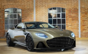 Picture Aston Martin, lights, DBS, Superleggera, 2019, OHMSS, OHMSS Edition